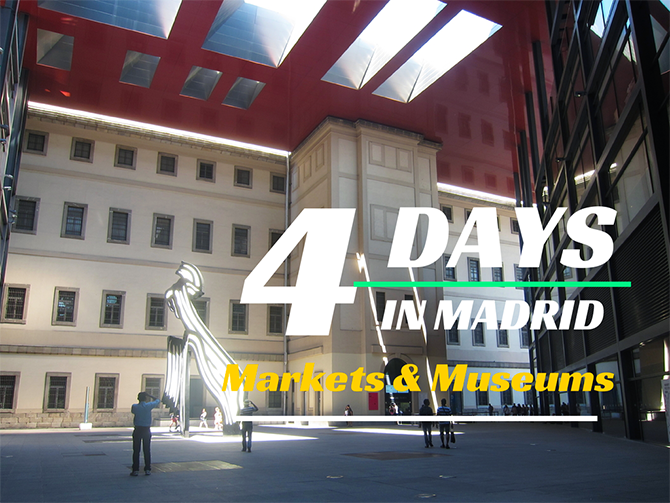 4 Days Madrid Market Museums Cover