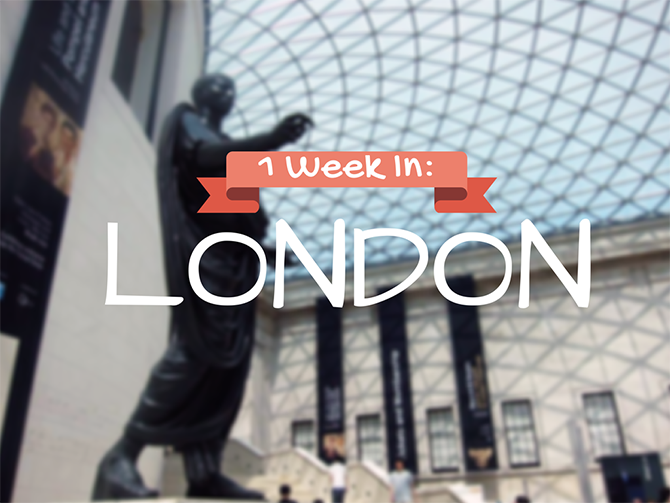 1 Week in London