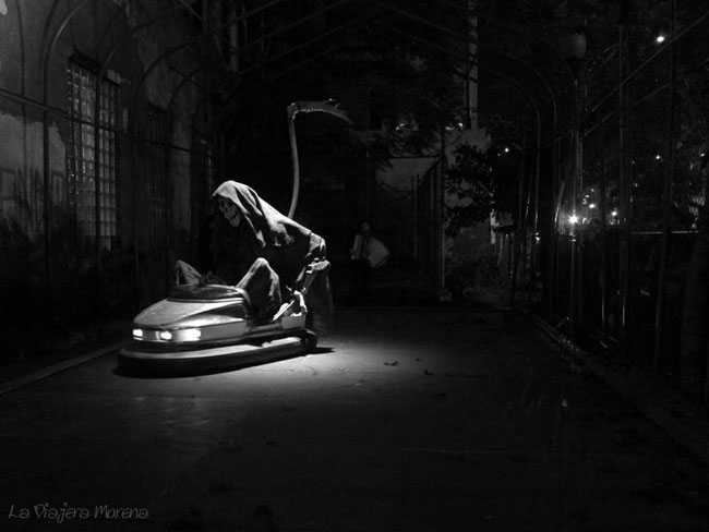 "Banksy - ""The Reaper"""