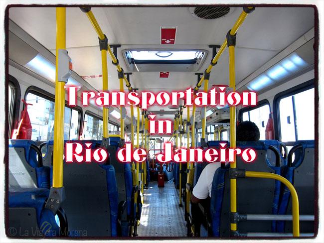 Transportation Rio de Janiero